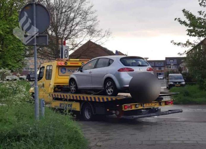 De auto van de man die zes keer 'vergat te betalen' bij verschillende tankstations, is door de politie in beslag genomen.