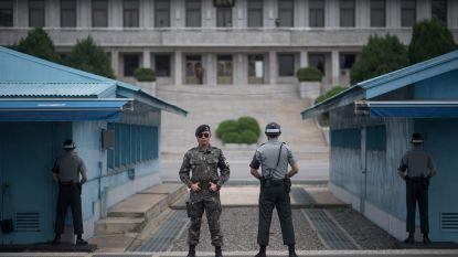 """Het Koreaanse grensdorp Panmunjeom: gevaarlijkste golfbaan en """"meest gespannen"""" plaats ter wereld"""