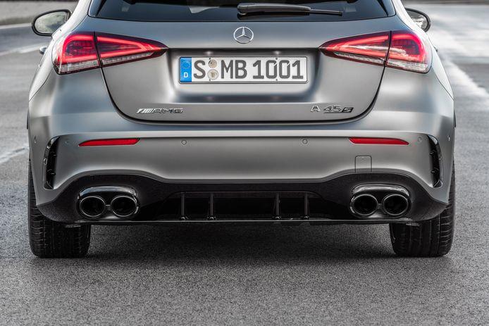 De Mercedes-AMG A45 S