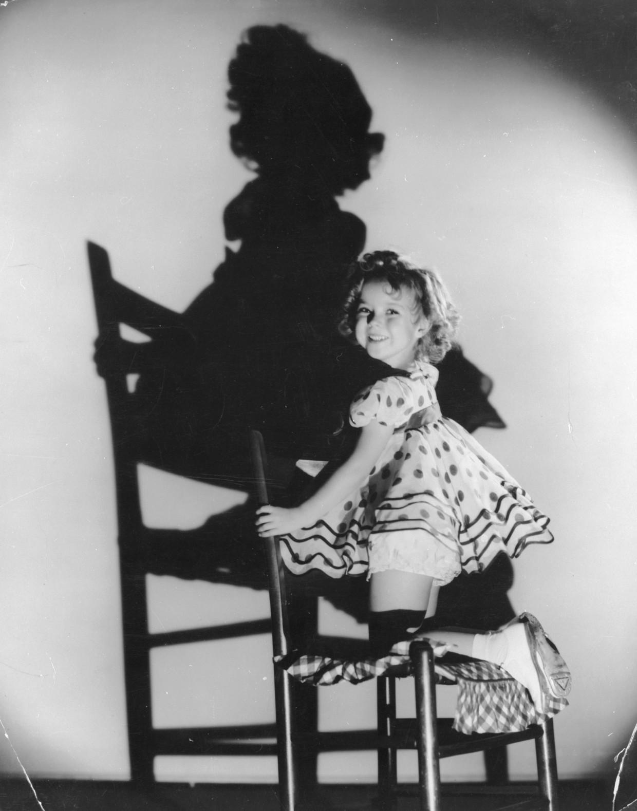 Kindster der kindsterren Shirley Temple. Beeld Getty Images