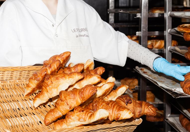 Le Fournil de Sébastien, Franse bakkerij. Beeld Nina Schollaardt