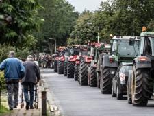 Alleen maar blije gezichten bij deelnemers Tractor Sterrit en Trekkerbal: 'Even de kop los maken'