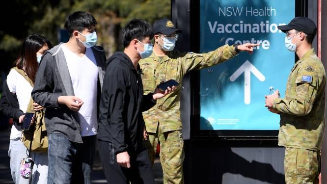 Opnieuw recordaantal besmettingen in Australische deelstaat New South Wales