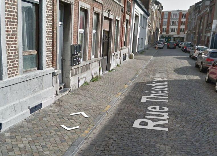 De feiten speelden zich af in de rue Théodore Bouille in Luik.