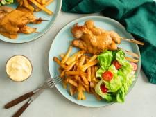 Wat Eten We Vandaag: Saté met friet en salade