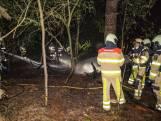 Bosbrand bij jongerencamping in Ommen snel gedoofd