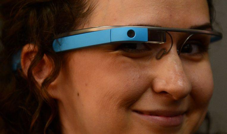 Google Glass Beeld afp