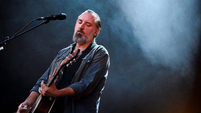 Fin Greenall, beter bekend als Fink, is een Engelse zanger, songwriter, gitarist en producer. Beeld anp