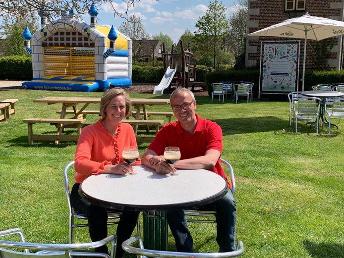 Bruno en Gudrun van 't Gaverhopke zijn er klaar voor: nu alleen nog de klanten.