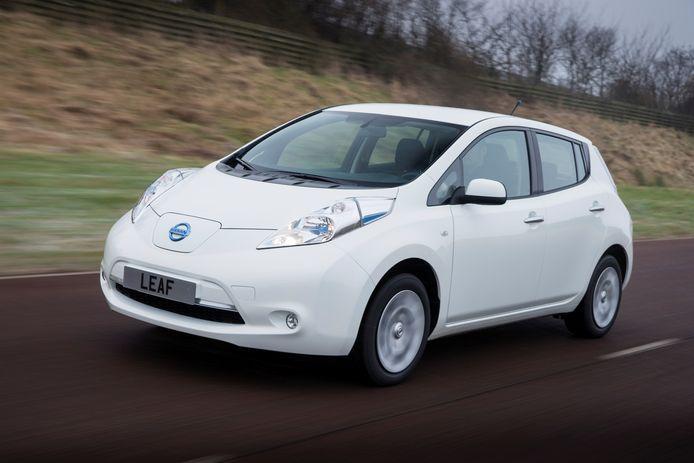 Nissan Leaf van de eerste generatie