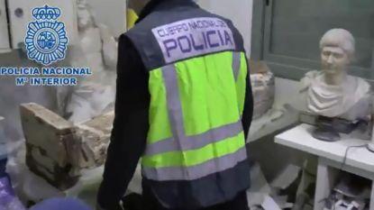 Spanje klist twee kopstukken van netwerk dat kunst van door IS geplunderde archeologische sites verkoopt