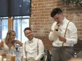 Jongeman met autisme geeft ontroerende speech op huwelijk van broer