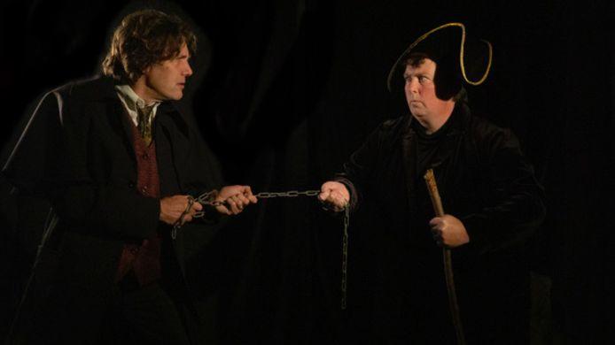 Niet te zien, wel te beluisteren: Les Miserables door toneelvereniging De Stuiter.