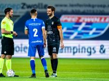 Robin Pröpper: 'De eerste helft was prima, de tweede helft slecht'