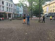 Omgeving Oudkerkhof kort afgezet na gaslek