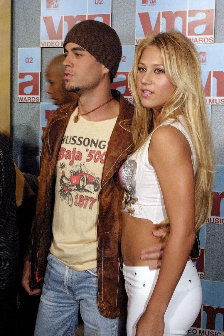 Anna Kournikova is al 18 jaar samen met Enrique Iglesias.