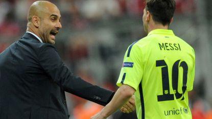 """Guardiola hoeft Lionel Messi niet bij Man City: """"Mijn wens is dat hij bij Barcelona blijft en daar zijn loopbaan beëindigt"""""""