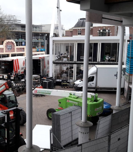 Het Marktplein: the day after Serious Request