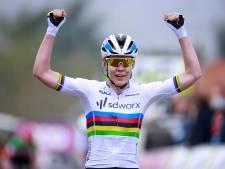 Van der Breggen wint Waalse Pijl voor zevende en laatste keer: 'Volgend jaar zijn ze van me af'