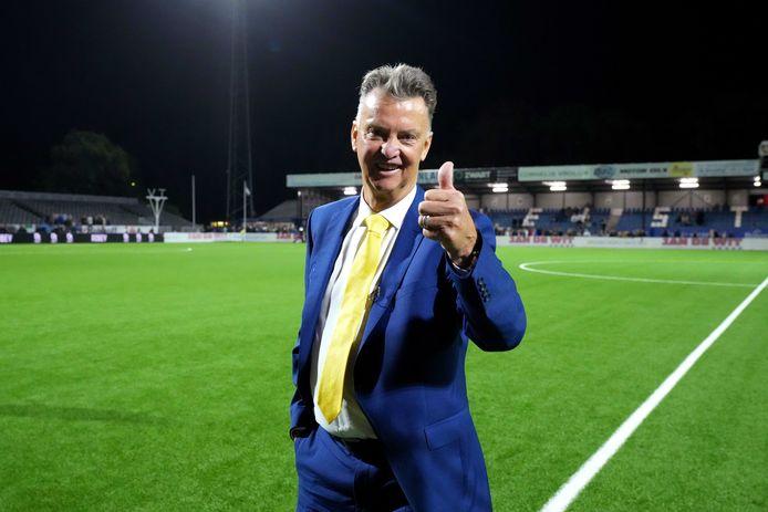 Louis van Gaal.