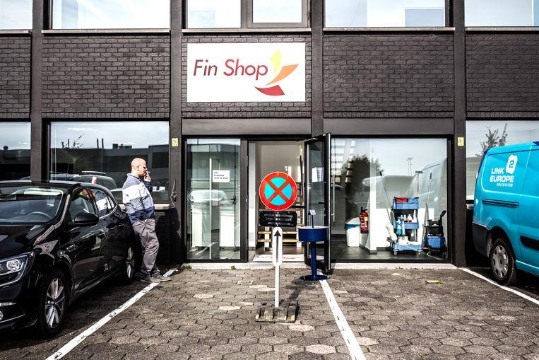De Fin Shop in het Waalse Gembloers.