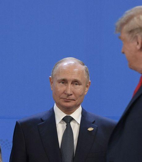 Poetin aan Trump: relatie met VS volgend jaar versterken