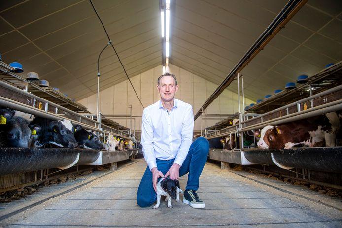 Kalverhouder Fije Visscher uit Nijkerk neemt afscheid als voorzitter van LTO Gelderse Vallei.