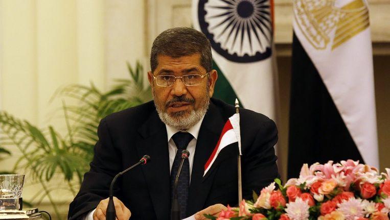 Egyptische president Mohamed Morsi Beeld epa