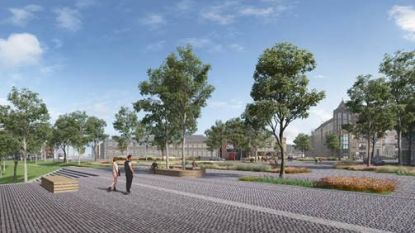 Nieuw plein verbindt Blauwe Boulevard en Hasseltse binnenstad
