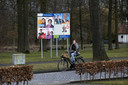 Laarbeeks verkiezingsbord aan de Koppelstraat in Beek en Donk. foto Rene Manders