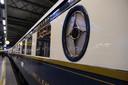 De Orient Express passeerde dinsdagavond in Brussel-Zuid.