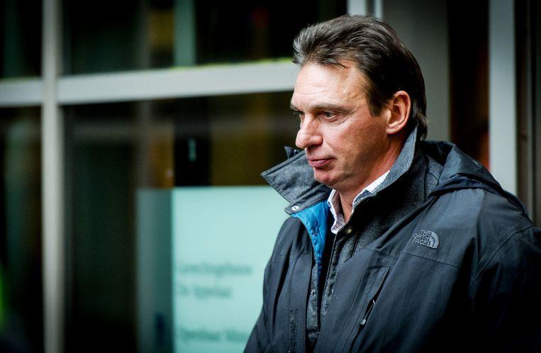 De Nederlandse topcrimineel Willem Holleeder hult zich graag in jassen van The North Face. Beeld anp