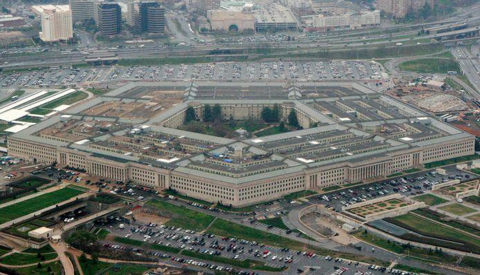 Archiefbeeld. Het Pentagon, waar het Amerikaanse ministerie van Defensie is gevestigd. (27/05/2008)