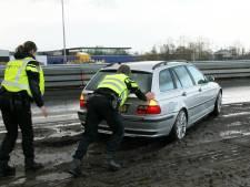 Verkeer stilgezet door ongeval op A1 bij Enter