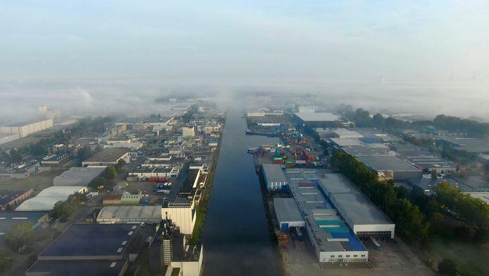 De gemeente Waalwijk heeft grootse plannen met de haven.