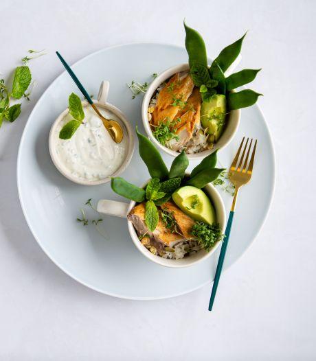 Wat Eten We Vandaag: Notenrijst met gerookte makreel