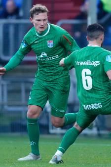 Stug PEC Zwolle pakt ondanks rode kaart punt tegen eredivisiesensatie Willem II