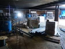 Er gutst straks 125.000 liter afvalwater per uur van de kassen naar de zuivering in Bommel