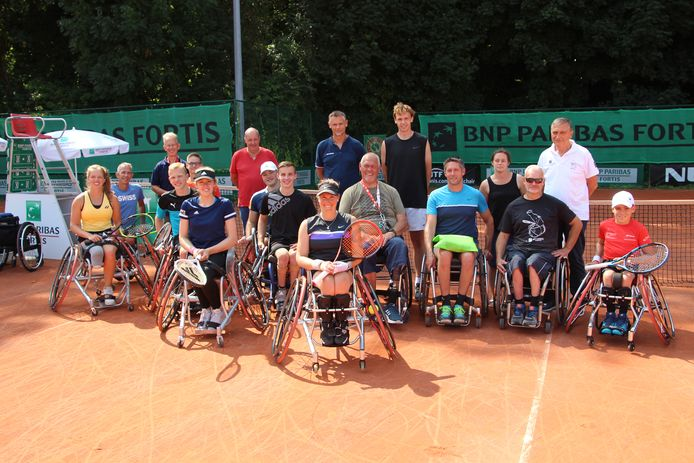 De rolstoeltennissers hebben er duidelijk zin in en geven vier dagen lang het beste van zichzelf op Stade Leuven.