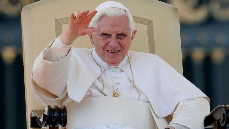 Paus Benedictus XVI. Foto ANP Beeld