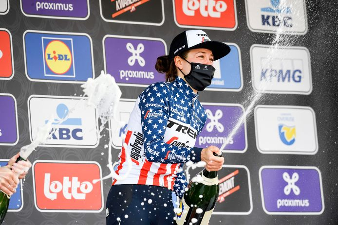 Ruth Winder remporte, de justesse, la quatrième Flèche Brabançonne féminine.