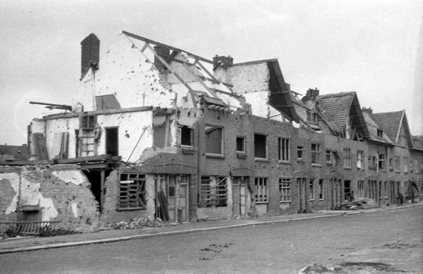 Verkuijl Quakkelaarstraat Vlissingen, 1944.