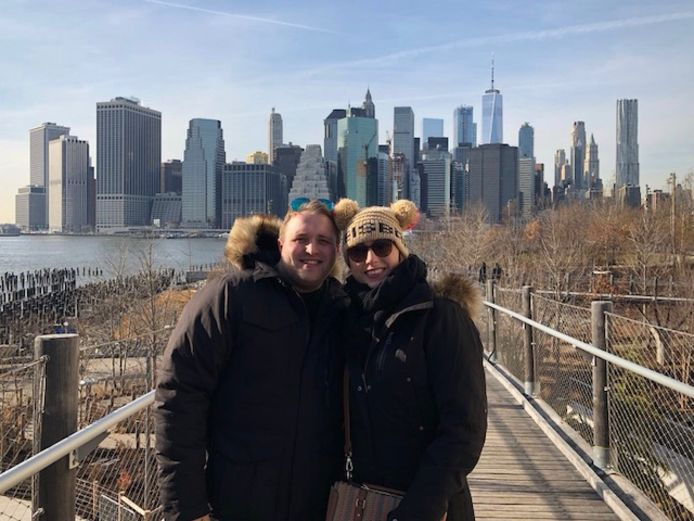 Sven vroeg Amanda in New York ten huwelijk