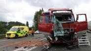 Vrachtwagen rijdt in op file E17, Oekraïense trucker zwaargewond