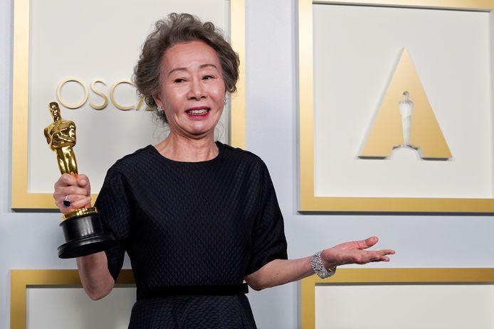Yuh-Jung Youn meilleure actrice dans un second rôle aux Oscars.