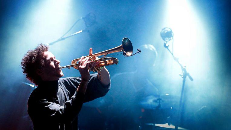 Kyteman verzorgt live soundtracks in Eye. Beeld anp
