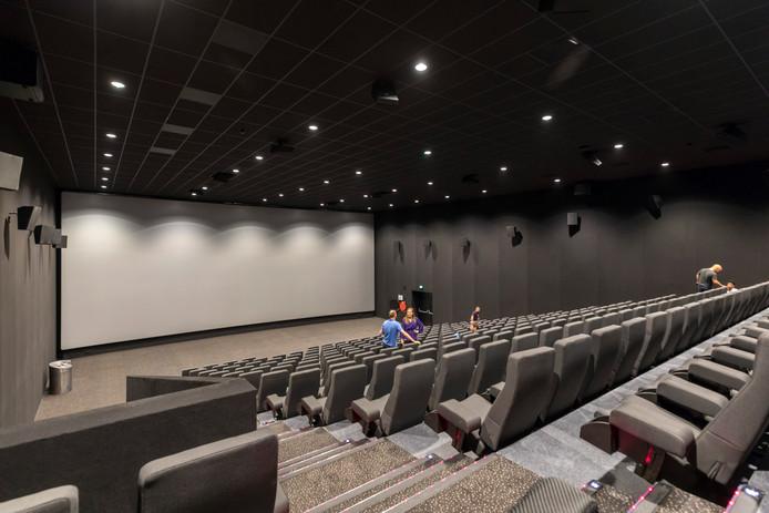 De nieuwe bioscoop in het paleiskwartier, Kinepolis.