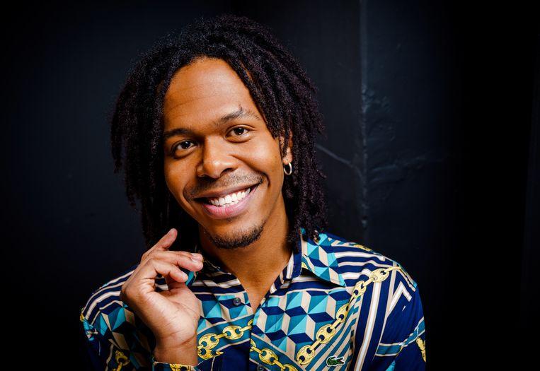 Jeangu Macrooy, de Nederlandse deelnemer van het Songfestival 2021. Beeld ANP