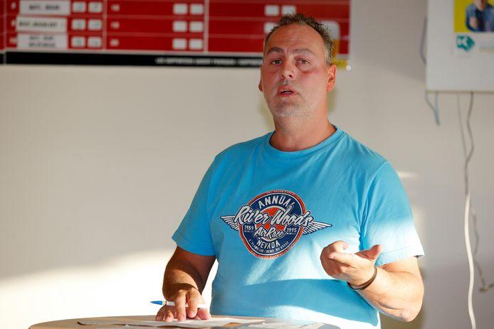 Voorzitter Gino Vandervoort stopt op het einde van het seizoen, net als twee andere bestuursleden. De toekomst van de club komt daardoor in het gedrang.