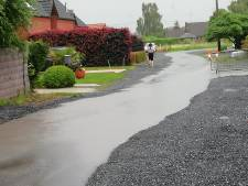 """Les riverains d'une rue inondée à Hensies sont excédés: """"Des égouts insuffisants"""""""
